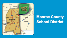 Monroe County School District logo